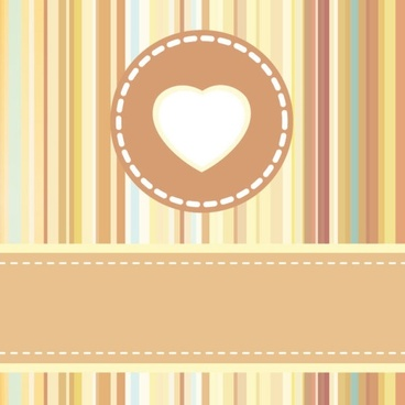 cute cartoon background 01 vector