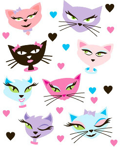 Cute Cartoon Cat Face Free Vector Download 23 310 Free Vector