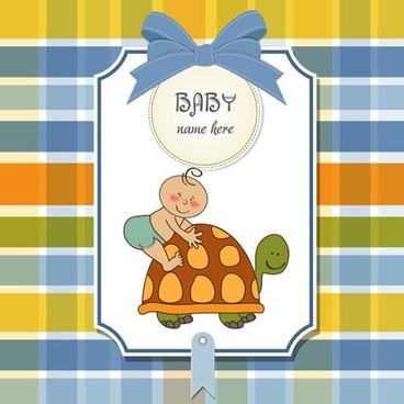 cute cartoon illustration vector line art blue plaid