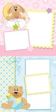 cute cartoon stationery vector
