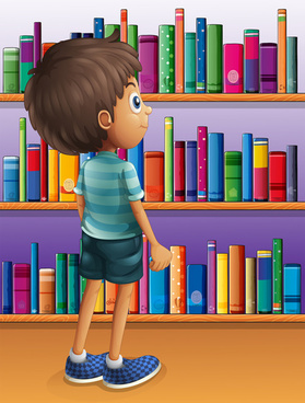 cute children student design vector