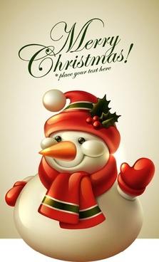 cute christmas tags 01 vector