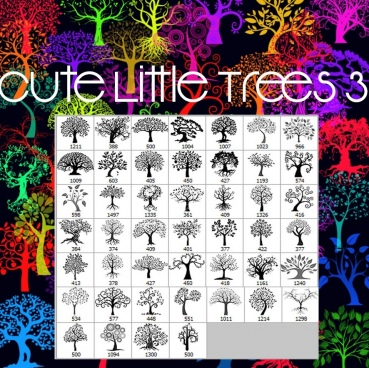 cute little trees 3