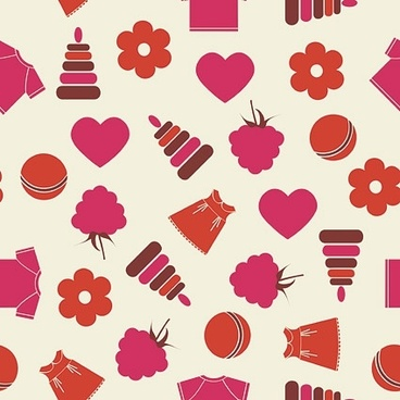 cute pattern background stock photo