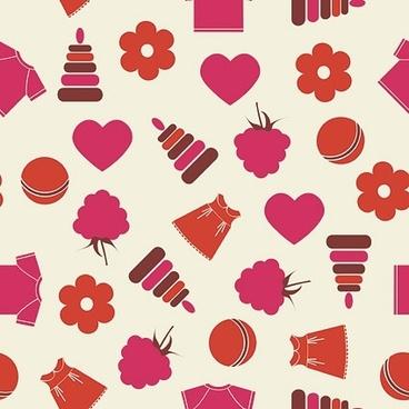 cute pattern background stock photo