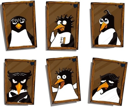 cute penguin photo vector
