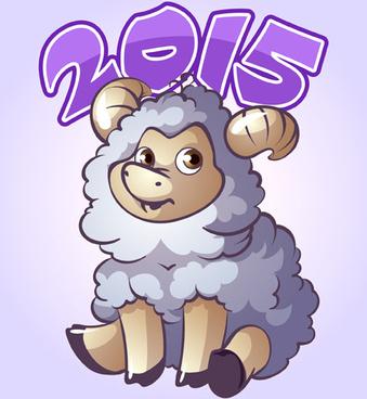 cute sheep15 art background