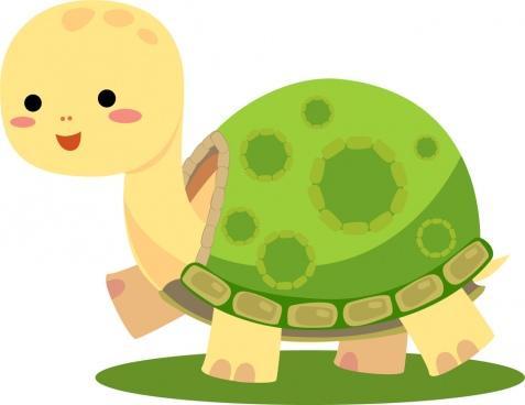 cute tortoise smile