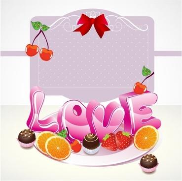 cute valentine 01 vector
