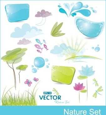 cute vector elements vector