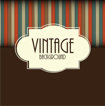 cute vintage background vectors design