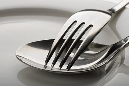 cutlery closeup picture