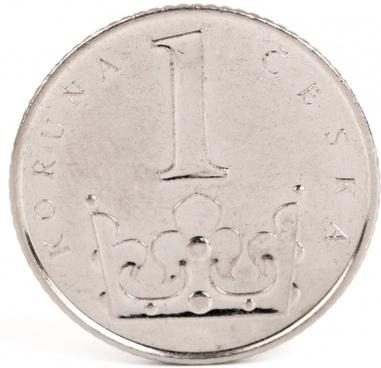 czech crown coin