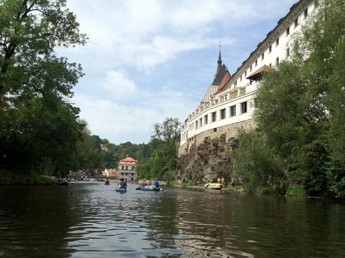 czech republic river �esk� krumlov