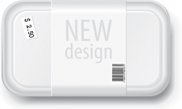 package tray icon modern realistic design