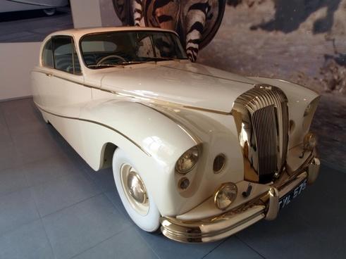 daimler 1955 car automobile