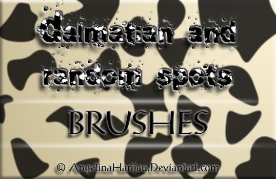 Dalmatian Spot Brushes