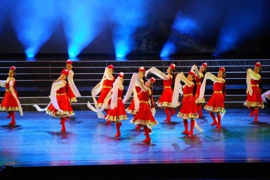 dancers dancer tibetan