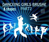 Dancing Girls Brush Part 2