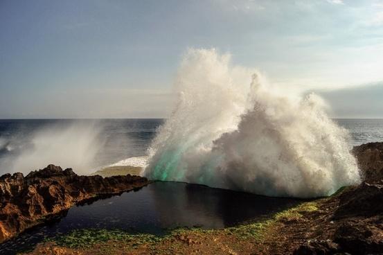 danger daytime disaster eruption geology geyser hot