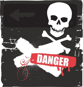 danger vector