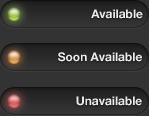 Dark Availability Buttons