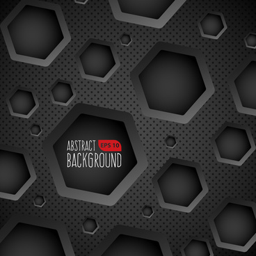 dark background with circular holes