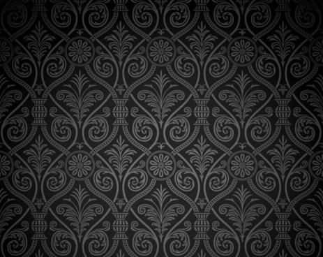 tribal pattern flat symmetric seamless decor