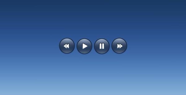Dark Music Controls