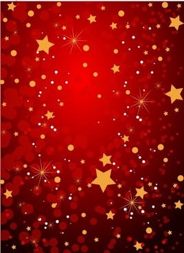dark red grunge background with stars