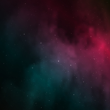 dark red space night sky