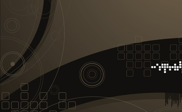 abstract background technology style dark geometry decoration