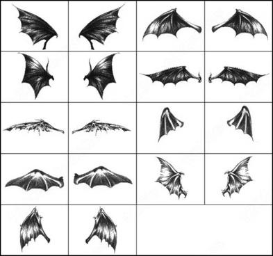 dark wings brush