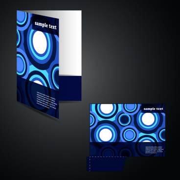 darkcolor folder and documents design vector