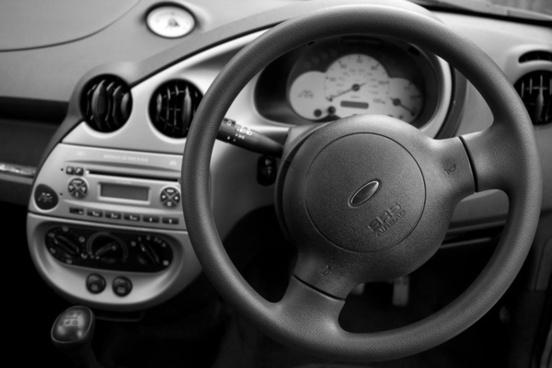 dashboard modern car