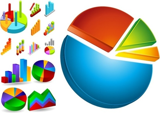 data analysis and statistics icon vector