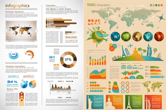 data chart vector art
