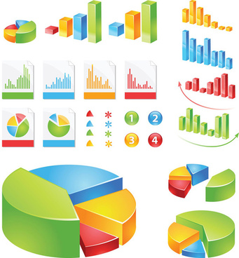 data statistics color map vector