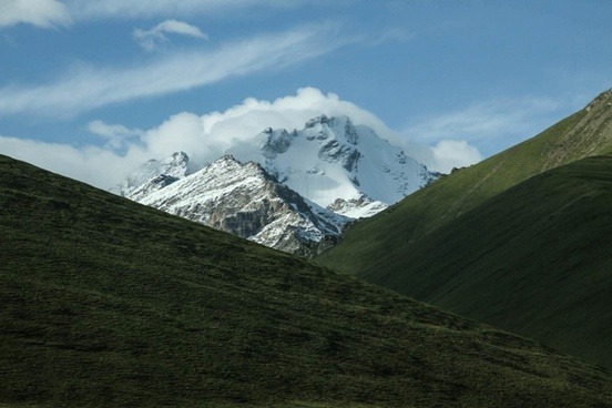 daytime forest glacier hiking hill landscape