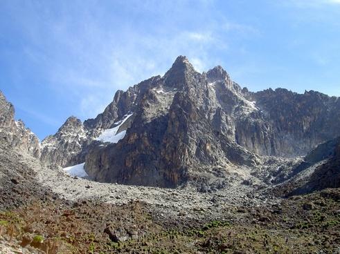 daytime forest glacier hiking landscape majestic