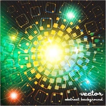 dazzling bright stars vector