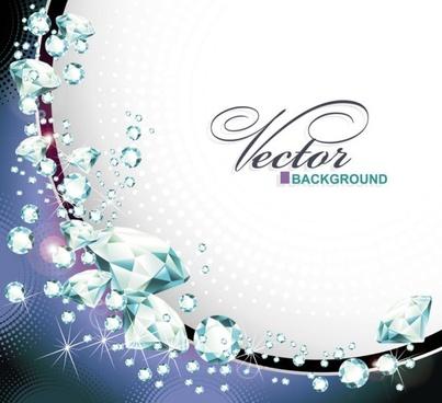 dazzling diamonds 03 vector