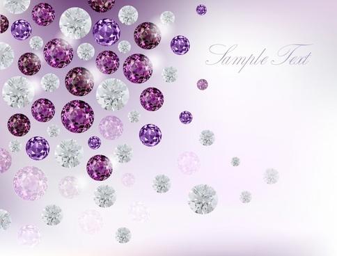 dazzling diamonds vector