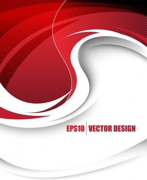 dazzling red background vector