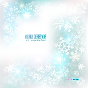dazzling snowflake background 03 vector