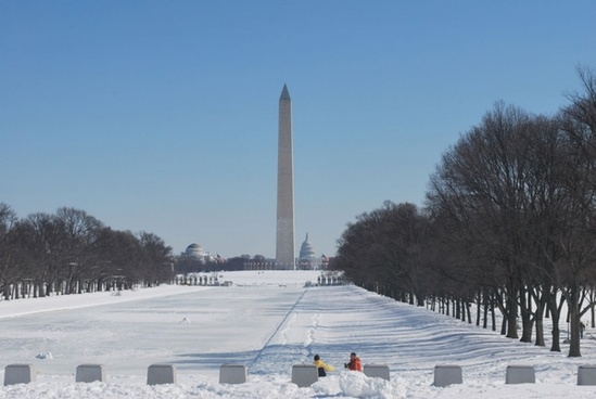 dc in the winter