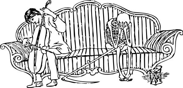 Death Overcome clip art