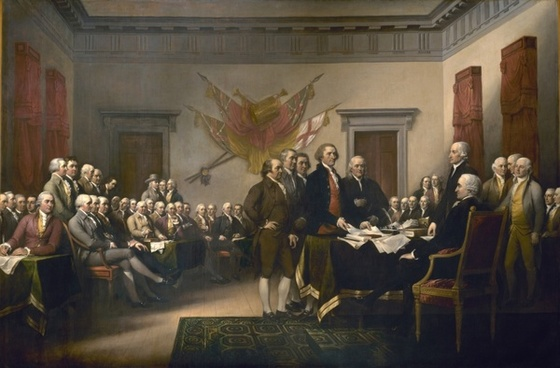 declaration of independence united states usa
