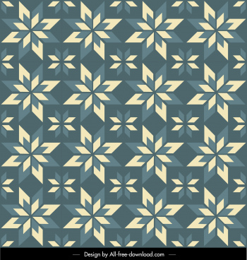decor pattern template repeating symmetrical illusion decor