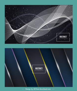 decorative abstract backgrounds modern shiny dynamic decor